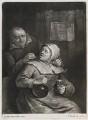 Brandy Nann, by and published by John Smith, after  Egbert van Heemskerck the Elder - NPG D11808