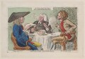 'The country politicians', by James Gillray, published by  William Richardson - NPG D12277