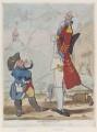 'Bombardinian' (Sir Grey Cooper; Sir Robert Hamilton, 4th Bt), by James Gillray - NPG D12281