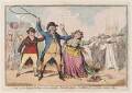 'A proof of the refin'd feelings of an amiable character, lately a candidate for a certain ancient city', by James Gillray - NPG D12282