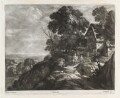 Landscape, by Bernard Lens (II), published by  John Smith, after  Paul Bril - NPG D11835