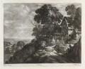 Landscape, by Bernard Lens (II), published by  John Smith, after  Paul Bril - NPG D11835