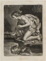 Narcissus, published by John Smith, after  Sir Peter Paul Rubens - NPG D11838
