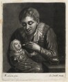 Fool and Child, published by John Smith, after  Marcellus Laroon - NPG D11840