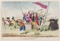 'Britania's assassination. Or the Repulicans amusement', by James Gillray, published by  Elizabeth d'Achery - NPG D12305