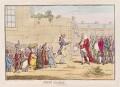 'Irish gratitude' (Henry Flood?; Henry Grattan; Edmond Sexton Pery, Viscount Pery), by James Gillray, published by  Hannah Humphrey - NPG D12307