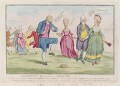 'Monuments lately discovered on Salisbury Plain', by James Gillray, published by  Hannah Humphrey - NPG D12309