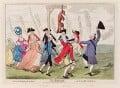 'The Jubilee', by James Gillray, published by  Elizabeth d'Achery - NPG D12311