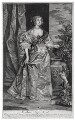 Anne Kirke (née Killigrew), by Isaac Beckett, published by  Edward Cooper, after  Sir Anthony van Dyck - NPG D13172