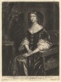 Catherine of Braganza, by Abraham Blooteling (Bloteling), after  Sir Peter Lely - NPG D13141