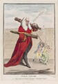 Sir Francis Buller, 1st Bt ('Judge Thumb'), by James Gillray, published by  William Humphrey - NPG D12316