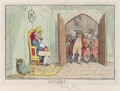 'Guy Vaux', by James Gillray, published by  William Humphrey - NPG D12324