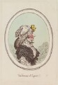'Une femme d'esprit', by James Gillray, published by  Hannah Humphrey - NPG D12327