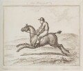 Horse and rider, by Unknown artist - NPG D12330