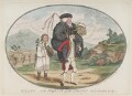 'Balaam, - or the majesty of the people', by James Gillray, published by  William Humphrey - NPG D12335