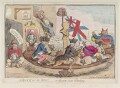 'A block for the wigs - or, the new state whirligig', by James Gillray, published by  William Humphrey - NPG D12340