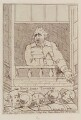 Charles James Fox ('Mr Fox appealing to his constituents from ye Kings Arms Tavern Palace Yard Feby 14 1784'), by Unknown artist - NPG D12347
