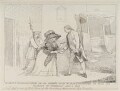 'An exact representation of an attempt made by Margt Nicholson to stab His Majesty on Wednesday Augt 2 1786', by Unknown artist, published by  Samuel William Fores - NPG D12352