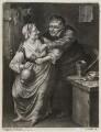 Tavern scene, by William Vincent, published by  John Smith, after  Adriaen van Ostade - NPG D11859