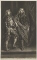Lord Bernard Stuart; Lord John Stuart, published by Richard Tompson, after  Sir Anthony van Dyck - NPG D13176