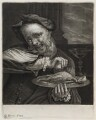Man Squeezing a Lemon, possibly published by John Smith, after  Daniel Boone - NPG D11860