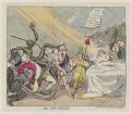 'The sick prince', by James Gillray, published by  Samuel William Fores - NPG D12365