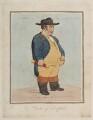 Charles Howard, 11th Duke of Norfolk ('A natural crop;- alias- a Norfolk dumpling'), by James Gillray, published by  Hannah Humphrey - NPG D12367