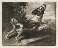 Dog Running, probably published by John Smith, after  Jan Verkolje - NPG D11875
