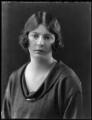Ursula Tod (née Spencer Churchill), by Bassano Ltd - NPG x37051