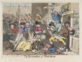 'The butchers of freedom', by James Gillray, published by  Hannah Humphrey - NPG D12384