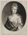 Sophia Dorothea of Celle, by William Faithorne Jr, published by  Edward Cooper, after  Johann Kerseboom - NPG D11901
