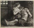Roman Charity, published by John Smith, after  Sir Peter Paul Rubens - NPG D11904