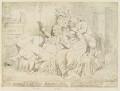 'Bandelures' (King George IV; Maria Anne Fitzherbert (née Smythe); Richard Brinsley Sheridan), by James Gillray, published by  Samuel William Fores - NPG D12412