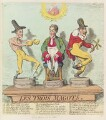 'Les trois magots', by James Gillray, published by  Hannah Humphrey - NPG D12429