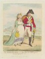 'The soldier's return; - or - rare news for old England', by James Gillray, published by  Hannah Humphrey - NPG D12430