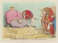 'The York-reverence; - or - city-loyalty, amply rewarded', by James Gillray, published by  Hannah Humphrey - NPG D12437