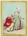 'A duet' (Thomas Vanhagen?), by James Gillray, published by  Hannah Humphrey - NPG D12452
