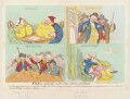 'Vices overlook'd in the new proclamation', by James Gillray, published by  Hannah Humphrey - NPG D12456