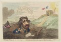 Charles James Fox ('The slough of despond'), by James Gillray, published by  Hannah Humphrey - NPG D12468