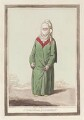 'A Turkish woman of Constantinople', by James Gillray, published by  Hannah Humphrey - NPG D12494