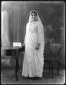 Anees Fatimah (née Karim), Lady Imam, by Bassano Ltd - NPG x120771