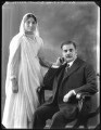 Anees Fatimah (née Karim), Lady Imam; Sir Saiyid Ali Imam, by Bassano Ltd - NPG x120772