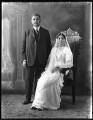 Sir Saiyid Ali Imam; Anees Fatimah (née Karim), Lady Imam, by Bassano Ltd - NPG x120773