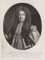 Laurence Hyde, 1st Earl of Rochester, by Isaac Beckett, published by  John Smith, after  Sir Godfrey Kneller, Bt - NPG D11659