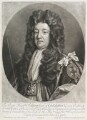 Sidney Godolphin, 1st Earl of Godolphin, by and sold by John Smith, after  Sir Godfrey Kneller, Bt - NPG D11670