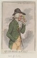 William Douglas, 4th Duke of Queensberry ('Quiz-zing a filly'), by James Gillray, published by  Hannah Humphrey - NPG D12512