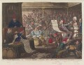 'Patriotic regeneration, - viz. - Parliament reform'd, a la françois, - that is - honest men (ie - Opposition) in the seat of justice', by James Gillray, published by  Hannah Humphrey - NPG D12519