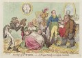 'Leaving off powder, - or - a frugal family saving the guinea', by James Gillray, published by  Hannah Humphrey - NPG D12521