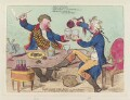 'God save the King, - in a bumper. or - an evening scene, three times a week at Wimbleton', by James Gillray, published by  Hannah Humphrey - NPG D12525
