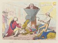 'John Bull ground down', by James Gillray, published by  Hannah Humphrey - NPG D12527